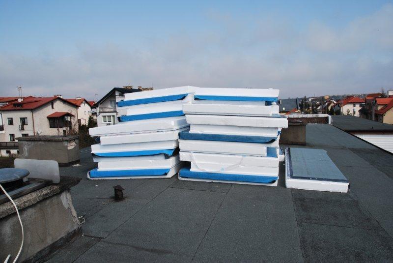 Koszt ocieplenia dachu płaskiego